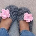 Adult Slippers Crochet Pat..