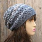  Crochet Hat - Slouchy Hat..