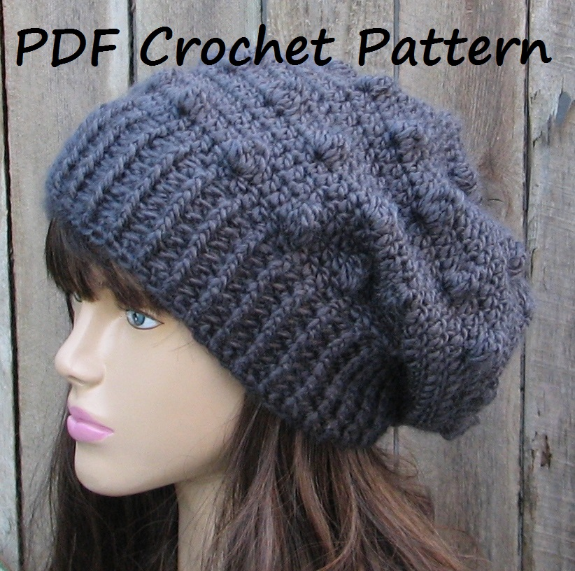 Crochet Hat Pattern For Women Hat Patterns For Women